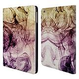 Offizielle PLdesign Rauchiger Staub Abstraktes Design Brieftasche Handyhülle aus Leder für iPad Air (2013)