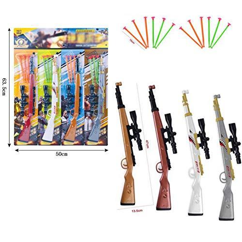 ZBAM Gun Insekten Mörder -Kreatives Spielzeug für Kinder ABS Soft Bullet No Harm (2 Guns)