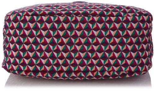 Kipling BAGSATIONAL, Borsa a spalla donna Multicolore (Triangle Tr Pr)