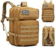 ANTARCTICA Military Tactical Backpack 45L 3 Day Assault Pack Molle Bag Rucksack