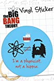 1art1 72168 Big Bang Theory - Hippie Poster-Sticker Tattoo Aufkleber 15 x 10 cm