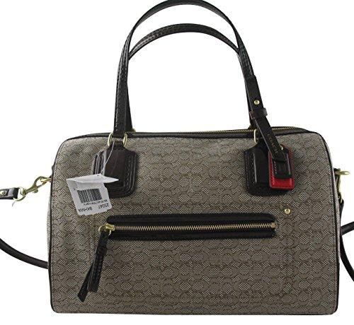 Coach Poppy Satchel Handbag Purse Bag Mini Oxford Signature C - 25047 Khaki M... (Coach Handbags Satchel)