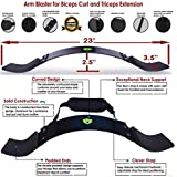 Xtrim Unisex Arm Blaster-Heavy Thick Gauge Aluminium-Bicep Blaster for Biceps and Triceps Workout