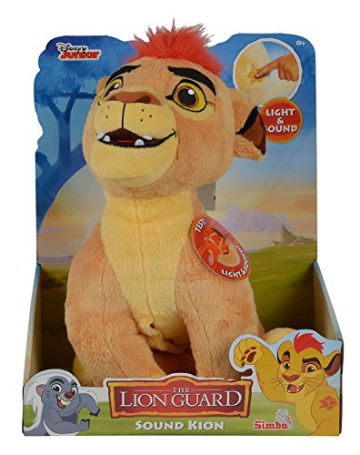 Simba 109316056 - The Lion Guard Kion Peluche Cm 35 con Suoni