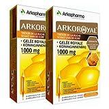Arkopharma Arko Royal Trésor de la Ruche Gelée Royale 1000 mg Lot de 2 x 20 Ampoules