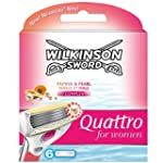 Wilkinson Sword Quattro Razor Blades...