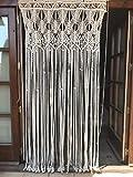 cortina de macrame 5 (cuerda de algodón)