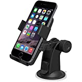 iOttie Easy One Touch Support voiture pour iPhone 4S/5/5S/5C/Smartphone Noir