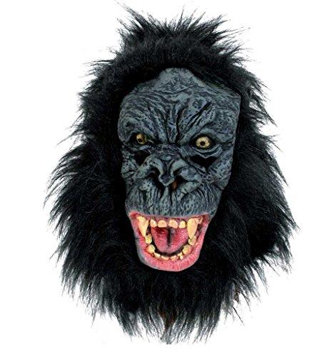 Gorilla-Maske, für Erwachsene (Machen Sie Ein Gorilla Kostüm)