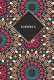 Liberia: Liniertes Reisetagebuch Notizbuch oder Reise Notizheft liniert - Reisen Journal für Männer und Frauen mit Linien