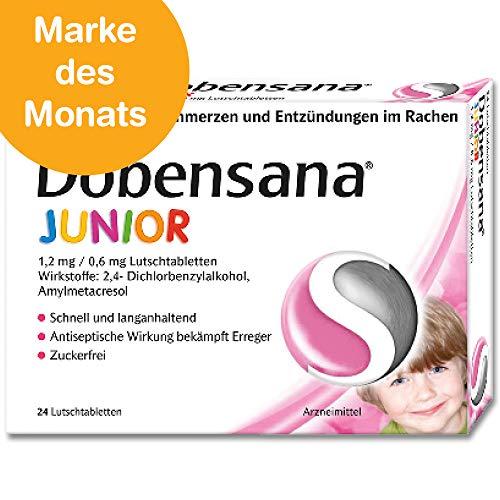 Dobendan DOBENSANA Junior 1,2 mg/0,6 mg Lutschtabletten - 24 St Lutschtabletten -
