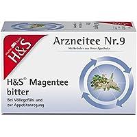H&S Magentee Filterbeutel 20 St preisvergleich bei billige-tabletten.eu