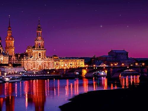 CALVENDO Puzzle Märchenhaftes Dresden 1000 Teile Lege-Größe 64 x 48 cm Foto-Puzzle Bild von...