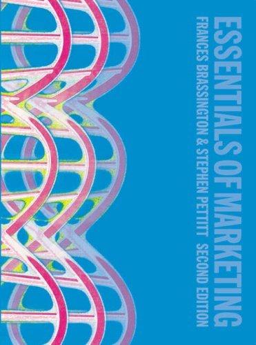 Essentials of Marketing by Franc Brassington (2007-08-01)