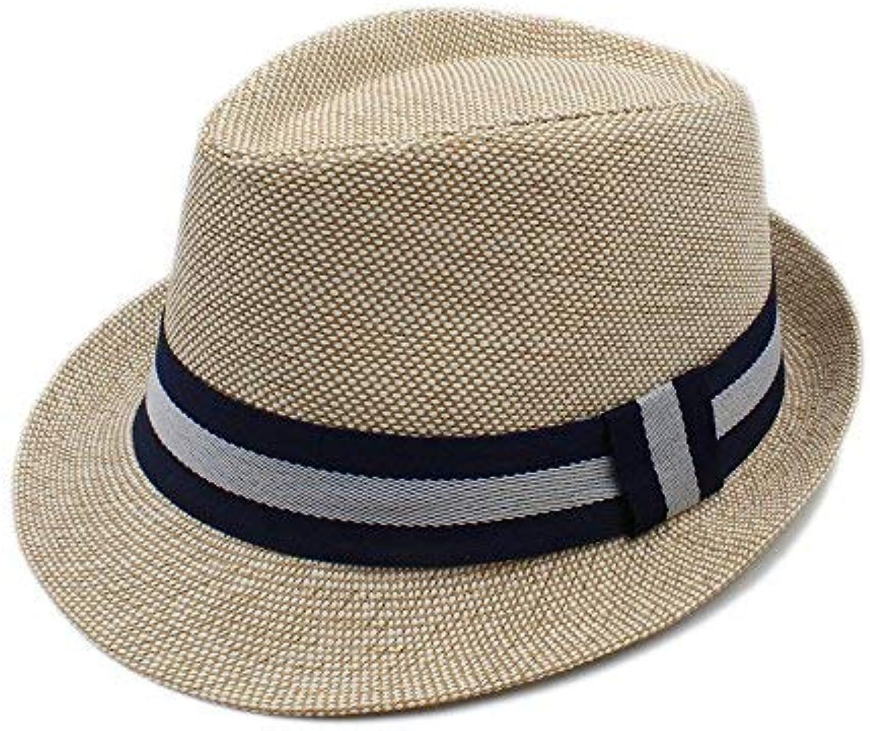 BAOJU Home Cappello - Cappello Estivo da in Donna in da Lino da Spiaggia  per Cappello Donna Elegante Parent 533e47 f013d188e768