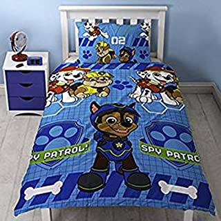 Paw Patrol Spy' Single Duvet Set-Repeat Print Design, Microfibre, Multi-Colour (B0713TBMK1) | Amazon price tracker / tracking, Amazon price history charts, Amazon price watches, Amazon price drop alerts