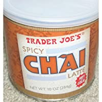 Trader Joe's Spicy Chai Latte, 10 ounces (Pack of 6)