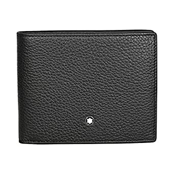 Montblanc Meisterstuck Soft Grain 6 Credit Card Wallet in Black