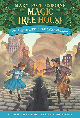 Earthquake in the Early Morning (Magic Tree House Book 24) (English Edition)