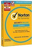 Software - SYMANTEC Norton Security Deluxe (3 Geräte - PC, Mac, Smartphone, Tablet)
