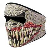 KT-SUPPLY 2 in 1 Neopren Maske Mit Klettverschluss Erwachsene Für