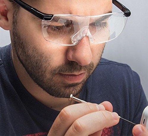 e Lupe Lupenbrille Brille Vergrößerung ()