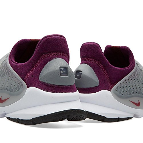 Nike Sock Dart Tech Fleece, Chaussures de Sport Homme gris - Gris (Grey Heather / Cool Grey-Mlbrry)