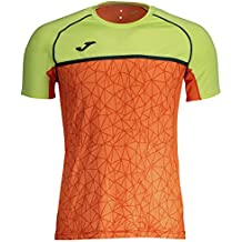 Joma Olimpia Flash Camisetas, Hombre, Naranja, M