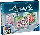 Ravensburger 29479 - Flowers - Aquarelle Maxi, 30 x 24 cm