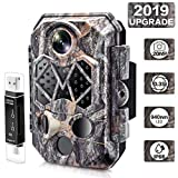 [2019 Upgraded] Trail Camera, CARMATE 20MP 1080P Wildlife Game Cam with Infrared Night