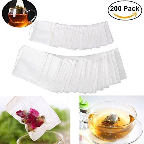 Rocita Nussmilchbeutel - Das vielseitige Passiertuch ideal für Nussmilch, Frucht- und Gemüsesäfte und Smoothies (5,5x7CM) 200PCS -
