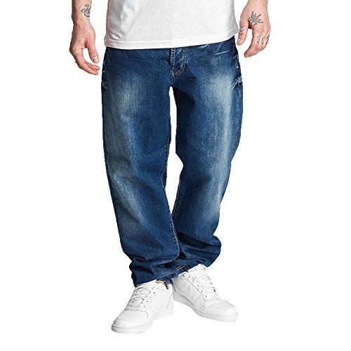 Thug Life Homme Jeans / Jean Coupe Droite Anadyr Bleu