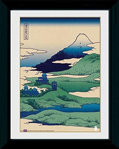 1art1 90566 Doctor Who - Japan Gerahmtes Poster Für Fans Und Sammler 40 x 30 cm