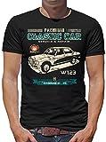 TLM Oldtimer Typ W123 Youngtimer Benz T-Shirt Herren XL Schwarz