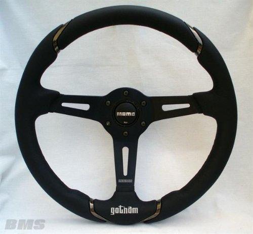 Preisvergleich Produktbild Momo momvgotham350ne–Gotham Lenkrad, Schwarz