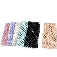 6 Stück Multicolor Nylon Choth Bade Gesicht waschen Elastic Schal-Haar-Band-Bindung preisvergleich bei fajdalomcsillapitas.eu
