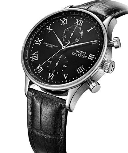 bureir-uomo-cronografo-multifunzionale-impermeabile-orologi-da-polso-quadrante-nero-argento-mani-e-c