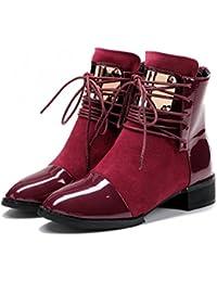 50 Zapatos 100 Terciopelo Para Eur Amazon Cordones Mujer es q16wxOctv