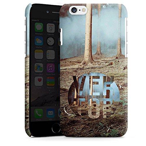 Apple iPhone 5s Housse Étui Protection Coque Arbres Forêt Sol Cas Premium brillant