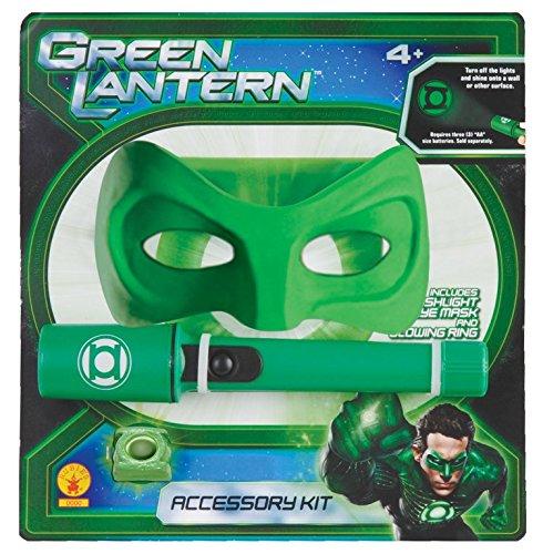 -Pack Taschenlampe mit Maske und Ring (Green Lantern Ring Und Maske)