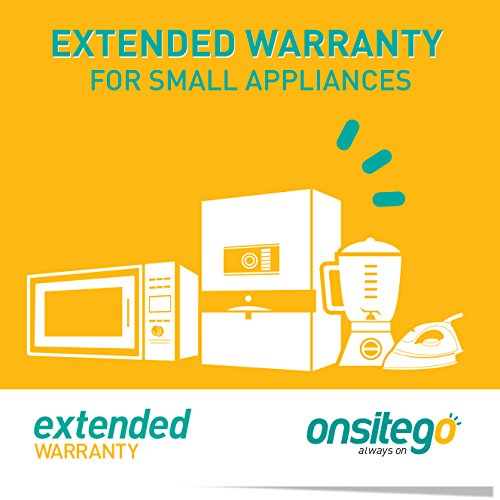 OnsiteGo 1 year Extended Warranty for Small Appliances (Rs.5001 - 10000)