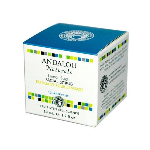 Andalou Naturals Clarifying Facial Scrub Lemon Sugar, 1.7 Ounce by Andalou Naturals (Sugar Scrub Lemon)