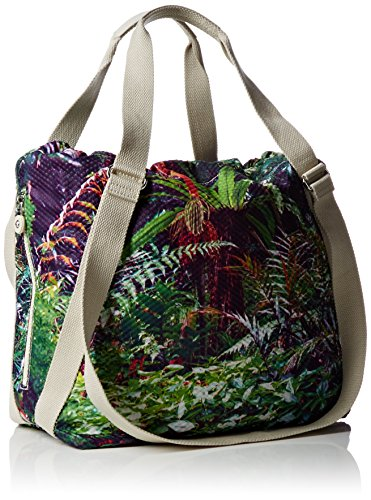 Kipling - Lazy Daisy Bpc, Borsa A Mano Donna Multicolore (Multicolore (Cactus Garden_J44))