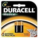 Duracell MN9100N - Batteria alcalina per fotocamere, calcolatrici e cercapersone, 1,5 V, confezione da 2