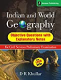 Meticulously researched, compiled and supported by relevant explanatory notes, this book by D R Khullar, a renowned expert on Geography, is a collection of high quality objective questions for aspirants of the UPSC and state civil services examinatio...