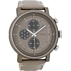 OOZOO Timepieces Taupe Horloge C8567