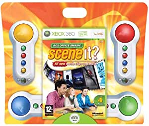 Scene It? Box Office Smash! Including 4 Big Buttons Pads (Xbox 360)