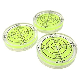 3 x 32mm Precision Bullseye Bubble Spirit Level