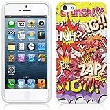 Etui de créateur pour Apple iPhone 5 - Etui / Coque / Housse de protection en TPU/gel/silicone avec motif bande dessinée