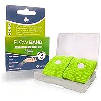Sanicos Flow Band - Hochwertiges Akupressur Armband – Befreit zuverlässig von Übelkeit – Natürlich wirksam bei... preisvergleich bei billige-tabletten.eu